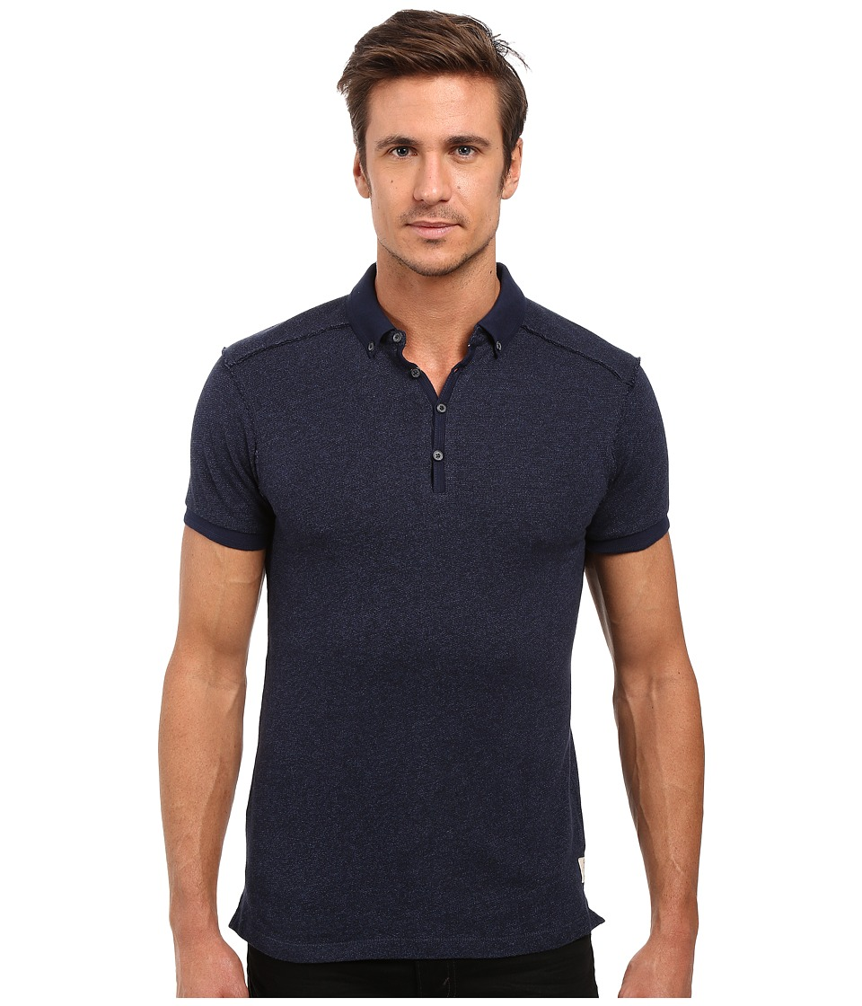 Scotch & Soda - Home Alone Polo Shirt (Midnight) Men's Clothing
