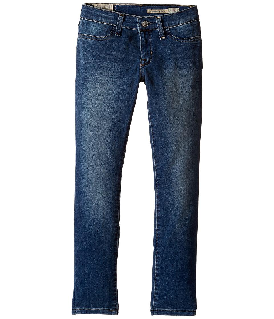 Polo Ralph Lauren Kids - Aubrie Denim Leggings (Little Kids/Big Kids) (Kim Wash) Girl's Casual Pants
