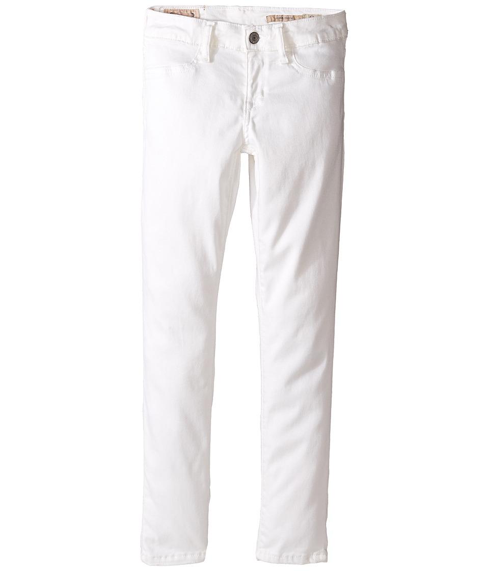Polo Ralph Lauren Kids - Aubrie Denim Leggings (Little Kids/Big Kids) (Lesley Wash) Girl's Casual Pants