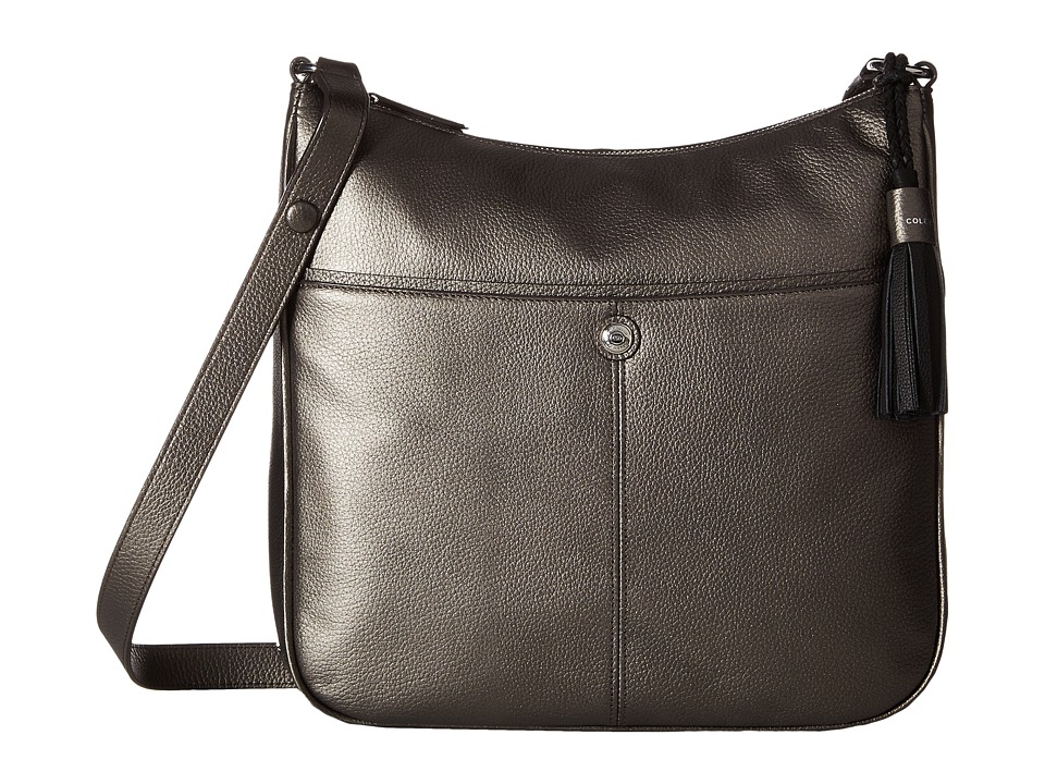 Cole Haan - Tilly Large Crossbody Bag (Gunmetal) Cross Body Handbags