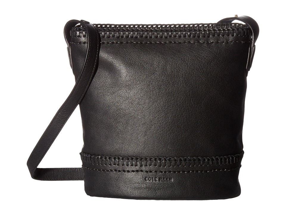 Cole Haan - Shelly Bucket Crossbody Bag (Black) Cross Body Handbags