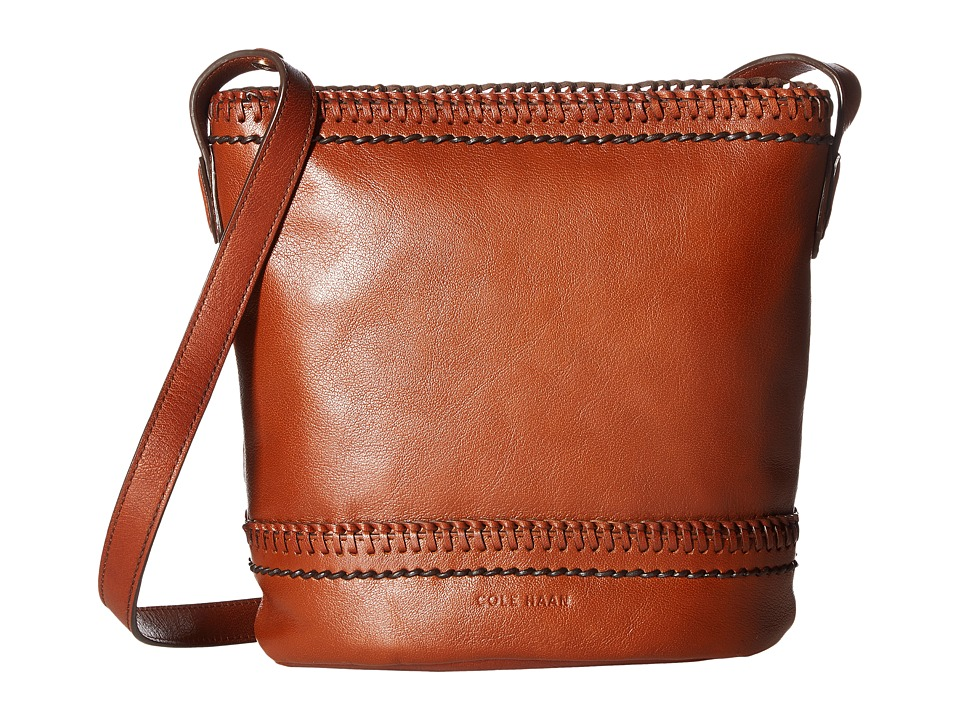 Cole Haan - Shelly Bucket Crossbody Bag (Woodbury) Cross Body Handbags