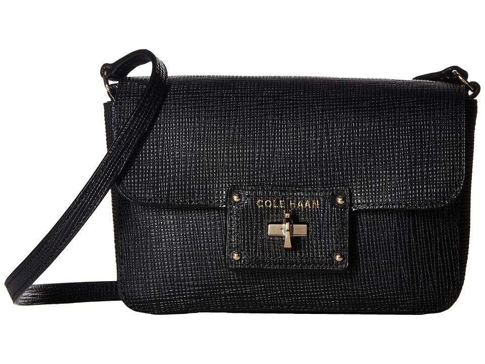 Cole Haan - Jozie Smartphone Crossbody Bag (Black) Cross Body Handbags