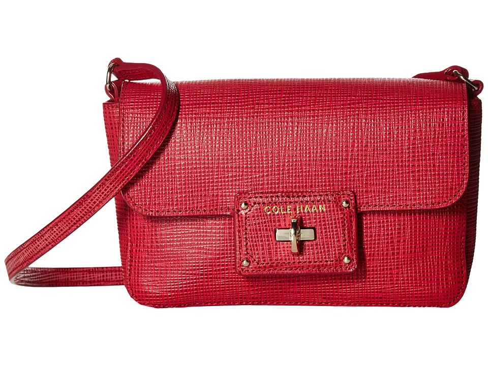 Cole Haan - Jozie Smartphone Crossbody Bag (Crimson) Cross Body Handbags