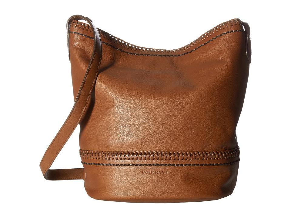 Cole Haan - Shelly Bucket Hobo Bag (Woodbury) Hobo Handbags
