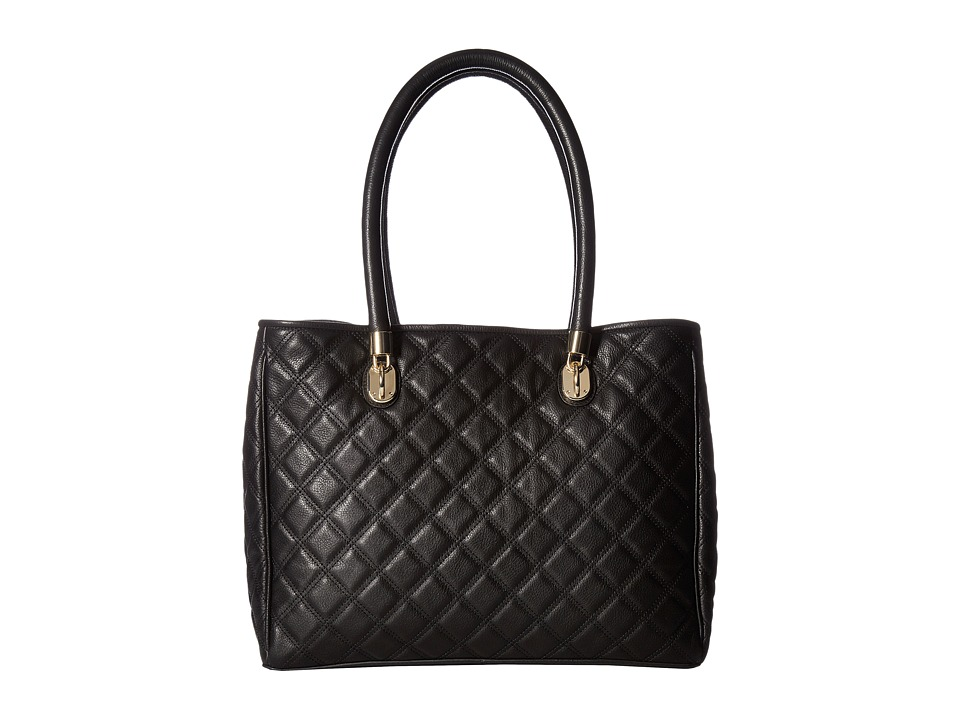 Cole Haan - Benson Quilted Tote (Black) Tote Handbags