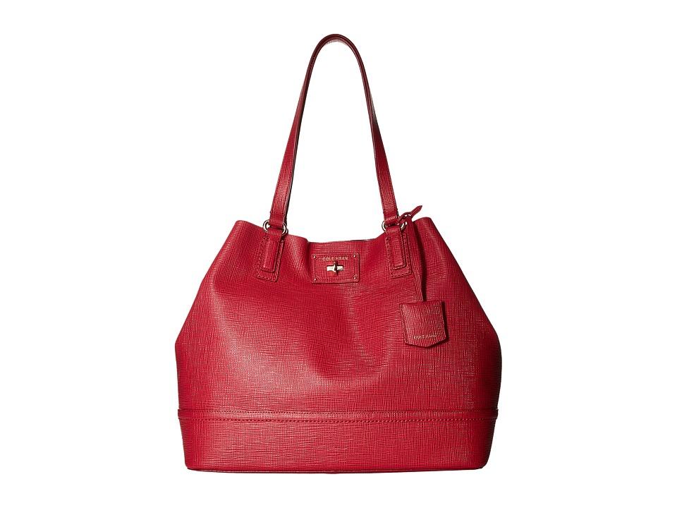 Cole Haan - Jozie Tote (Crimson) Tote Handbags