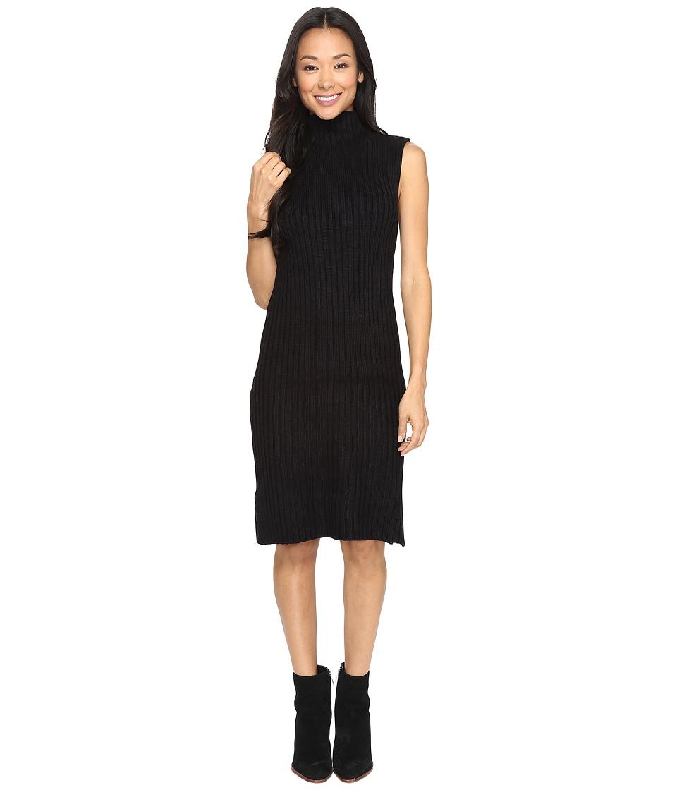 Brigitte Bailey - Eade Sleeveless Turtleneck Sweater Dress (Black) Women's Sweater