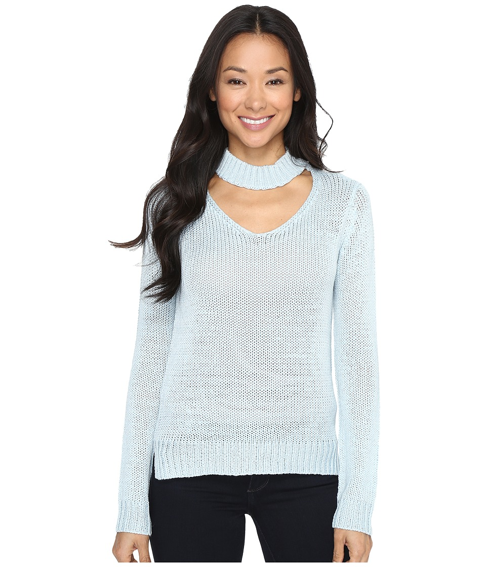 Brigitte Bailey - Zalia Open Neck Sweater (Skylight) Women's Sweater