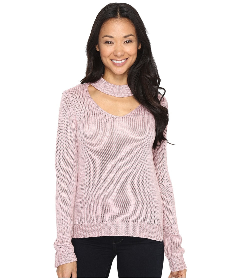 Brigitte Bailey - Zalia Open Neck Sweater (Pink Lilac) Women's Sweater