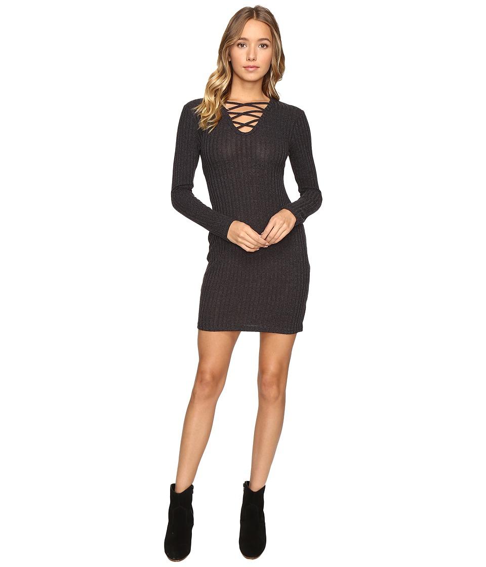 Culture Phit Lahela Lace-Up Sweater Dress