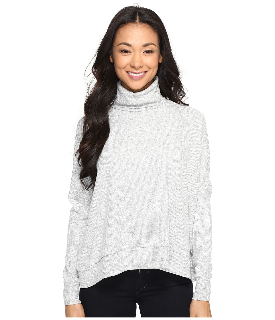 Culture Phit - Sorcha Turtle Neck Sweater (Silver) Women's Sweater