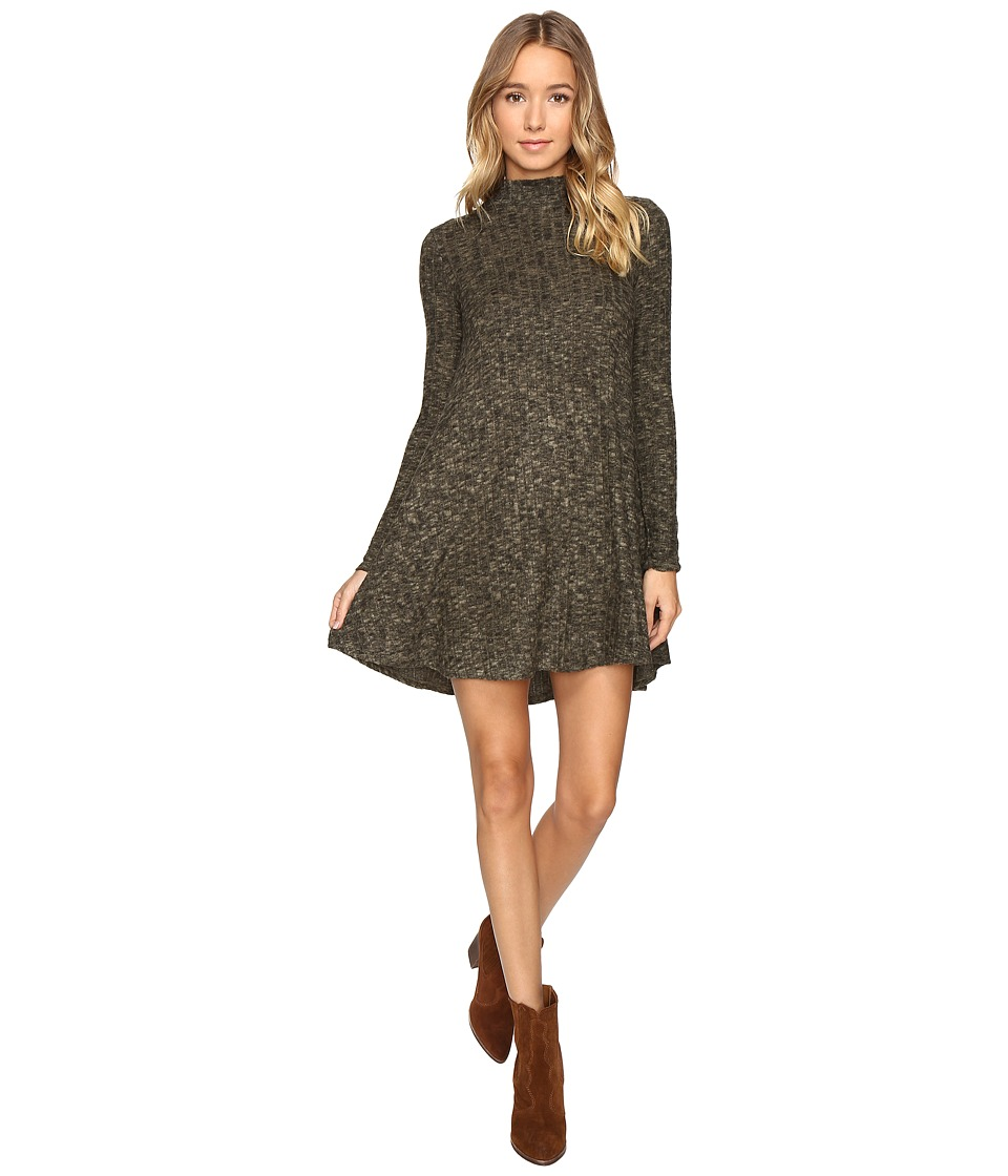 Culture Phit Breyah Mock Neck Dress