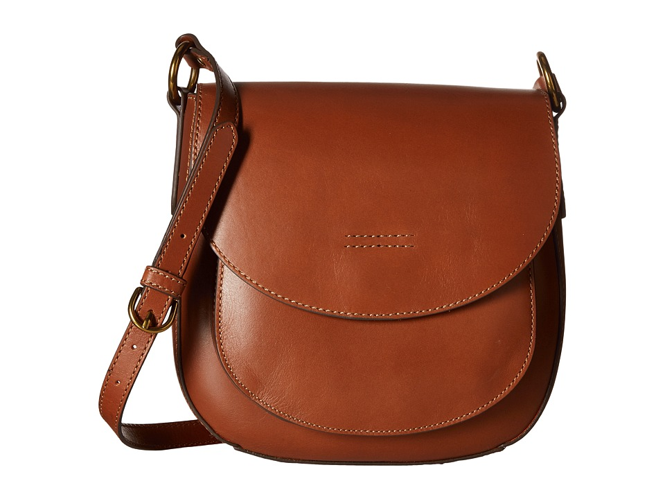 Frye - Harness Saddle (Rust Smooth Full Grain) Shoulder Handbags