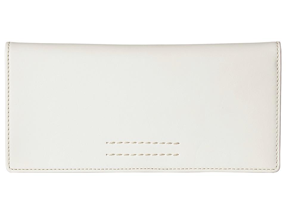 Frye - Harness Wallet (Off-White Smooth Full Grain) Wallet Handbags