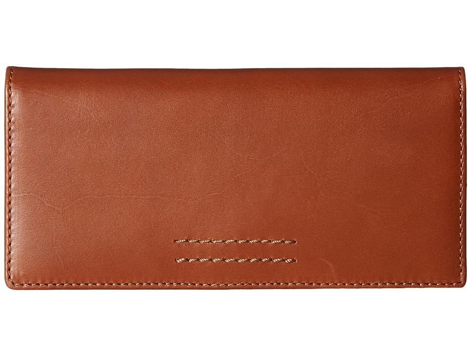 Frye - Harness Wallet (Rust Smooth Full Grain) Wallet Handbags