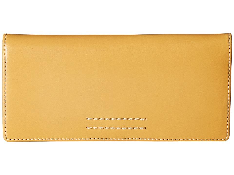 Frye - Harness Wallet (Yellow Smooth Full Grain) Wallet Handbags