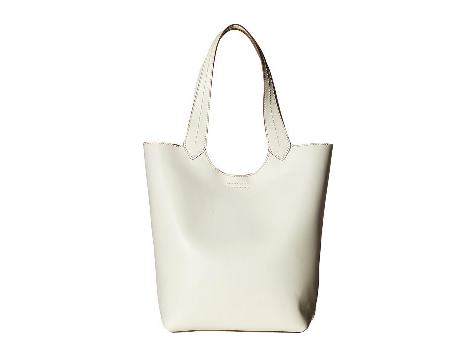 Frye - Harness Tote (Off-White Smooth Full Grain) Handbags