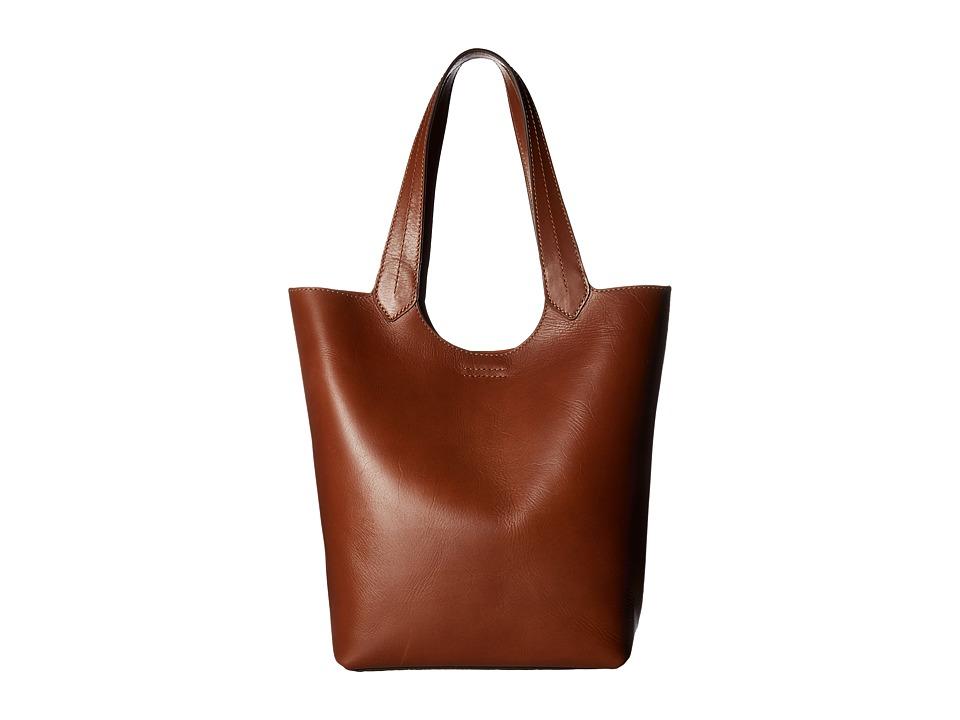 Frye - Harness Tote (Rust Smooth Full Grain) Handbags