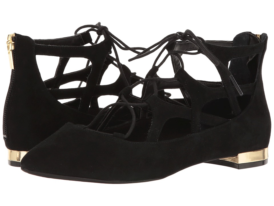 Rockport - Total Motion Adelyn Ghillie (Black Nubuck) Women's Shoes