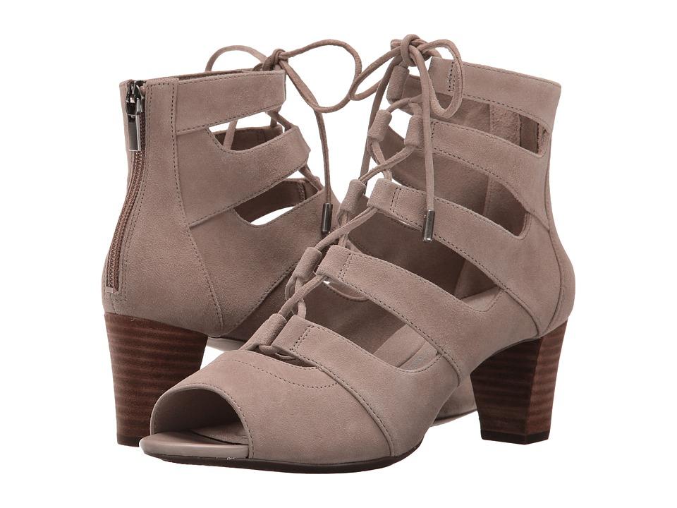 Rockport - Total Motion Audrina Ghillie (Vintage Khaki Nubuck) Women's Shoes