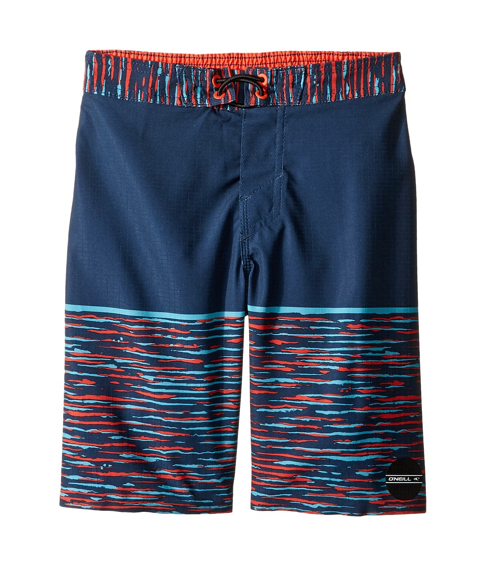 O'Neill Kids - Hyperfreak Streaming Boardshorts (Little Kids) (Navy) Boy's Swimwear