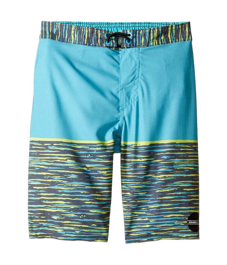 O'Neill Kids - Hyperfreak Streaming Boardshorts (Little Kids) (Turquoise) Boy's Swimwear