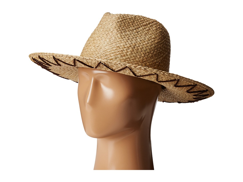 Brixton - Plains Fedora (Tan) Fedora Hats
