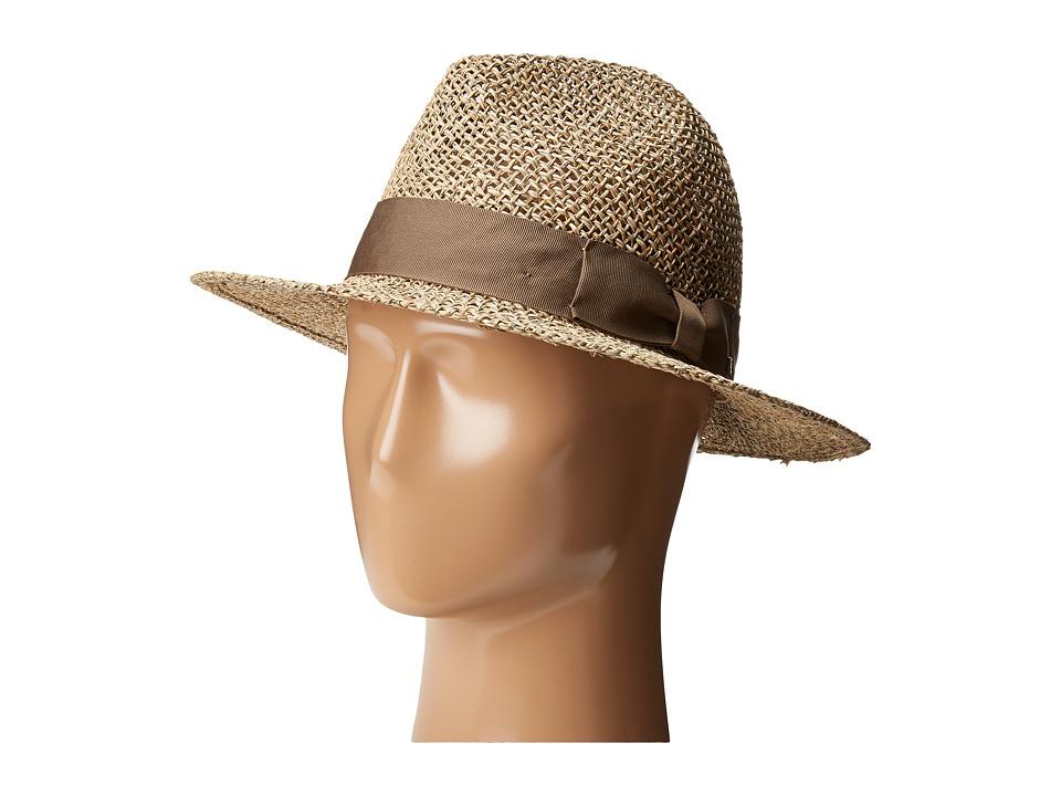 Brixton - Abilene Fedora (Tan) Fedora Hats
