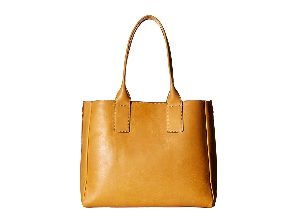 Frye - Ilana Tote (Yellow Smooth Veg Tan) Tote Handbags