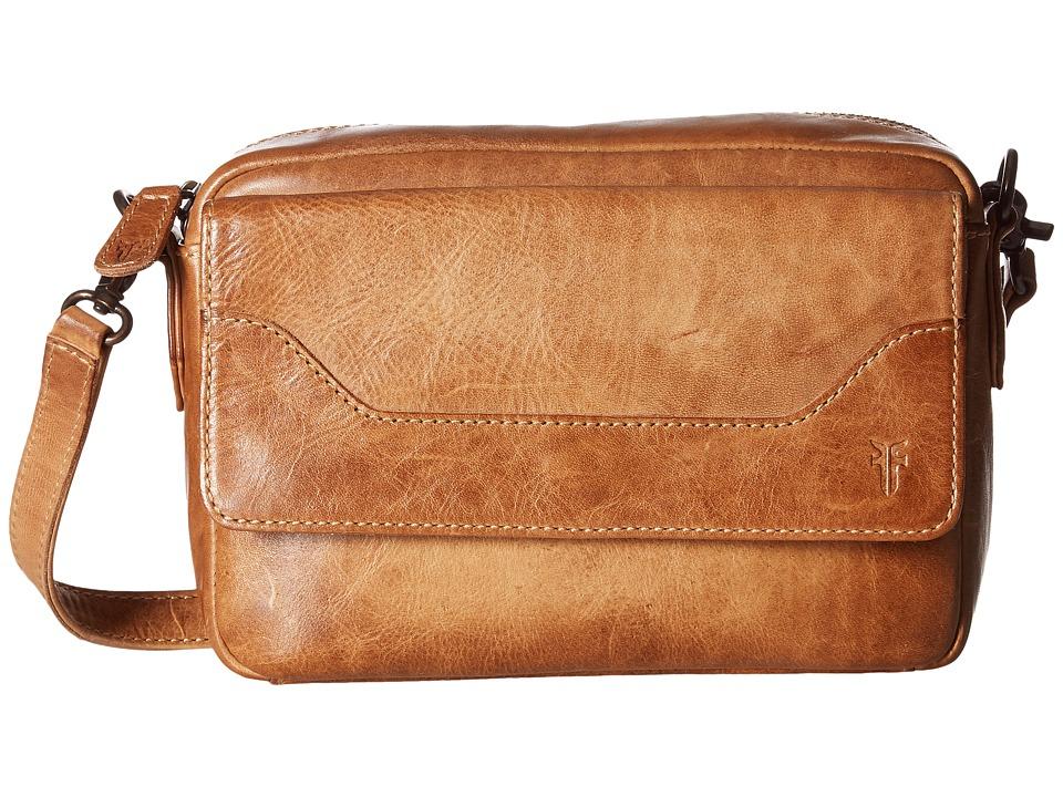 Frye - Melissa Camera Crossbody (Beige Antique Pull Up) Cross Body Handbags