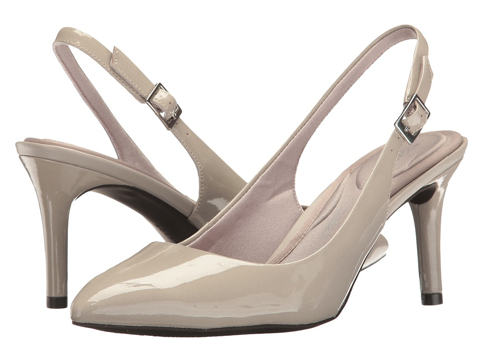 Rockport - Total Motion 75mm Pointy Toe Sling (Cloud Patent) High Heels
