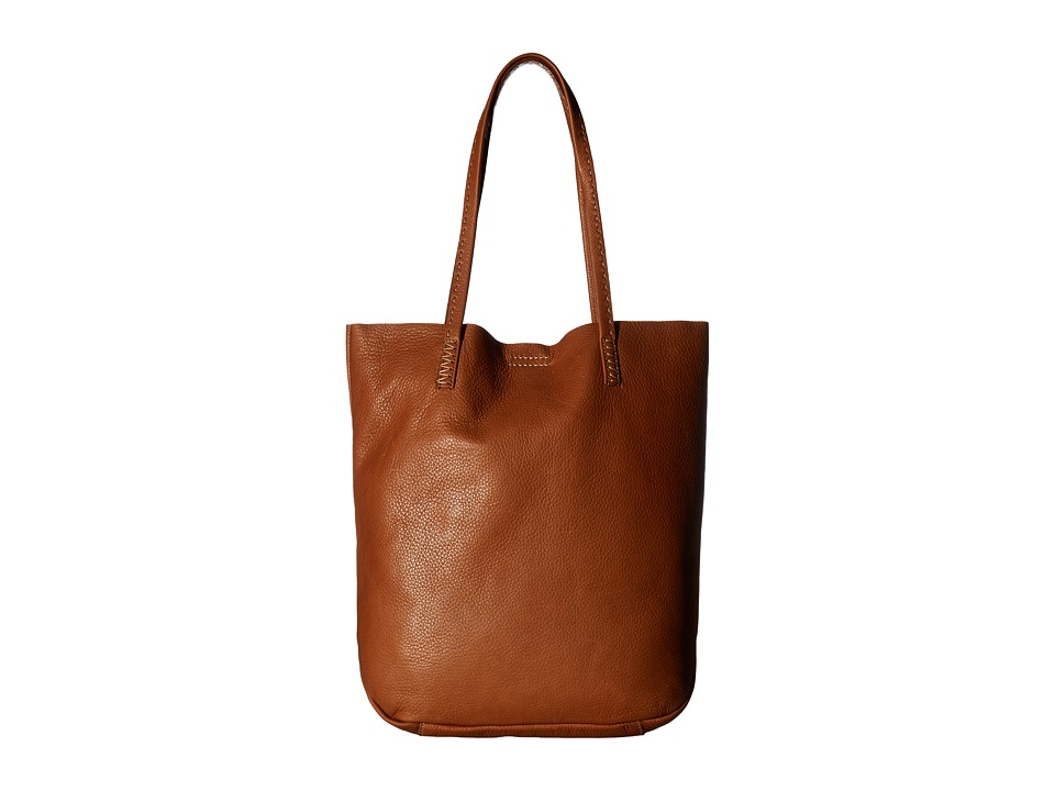 Frye - Naomi Pickstitch Tote (Whiskey Soft Full Grain) Tote Handbags