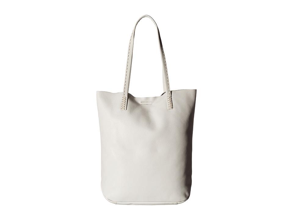 Frye - Naomi Pickstitch Tote (White Soft Full Grain) Tote Handbags