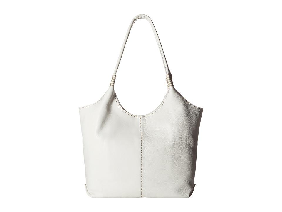 Frye - Naomi Pickstitch Shoulder (White Soft Full Grain) Shoulder Handbags
