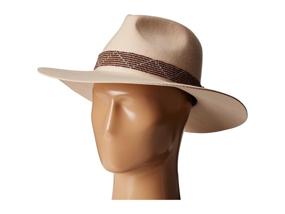 Brixton - Sorento Fedora (Nude) Fedora Hats