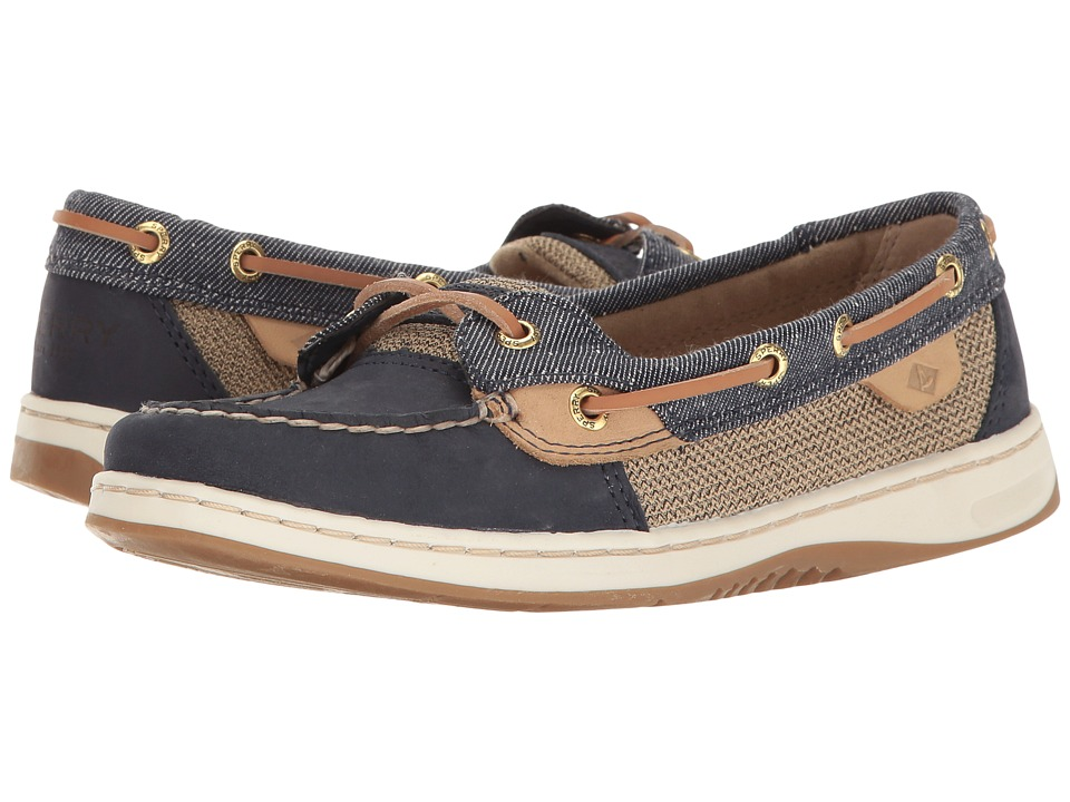 Sperry - Angelfish Pin Dot (Navy) Women's Shoes