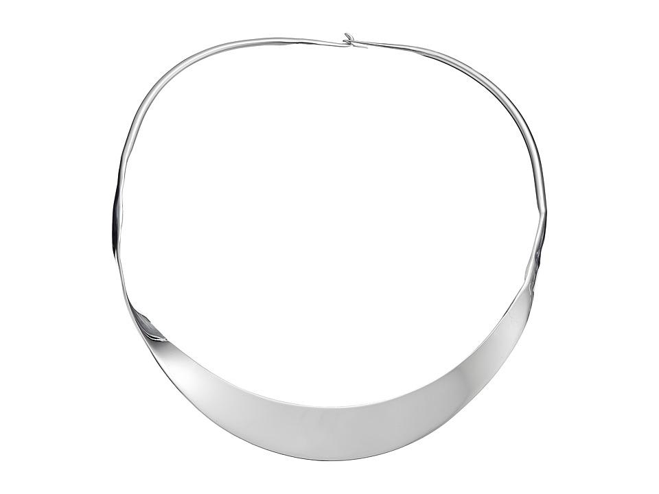 Robert Lee Morris - Silver Twist Collar Necklace (Silver) Necklace