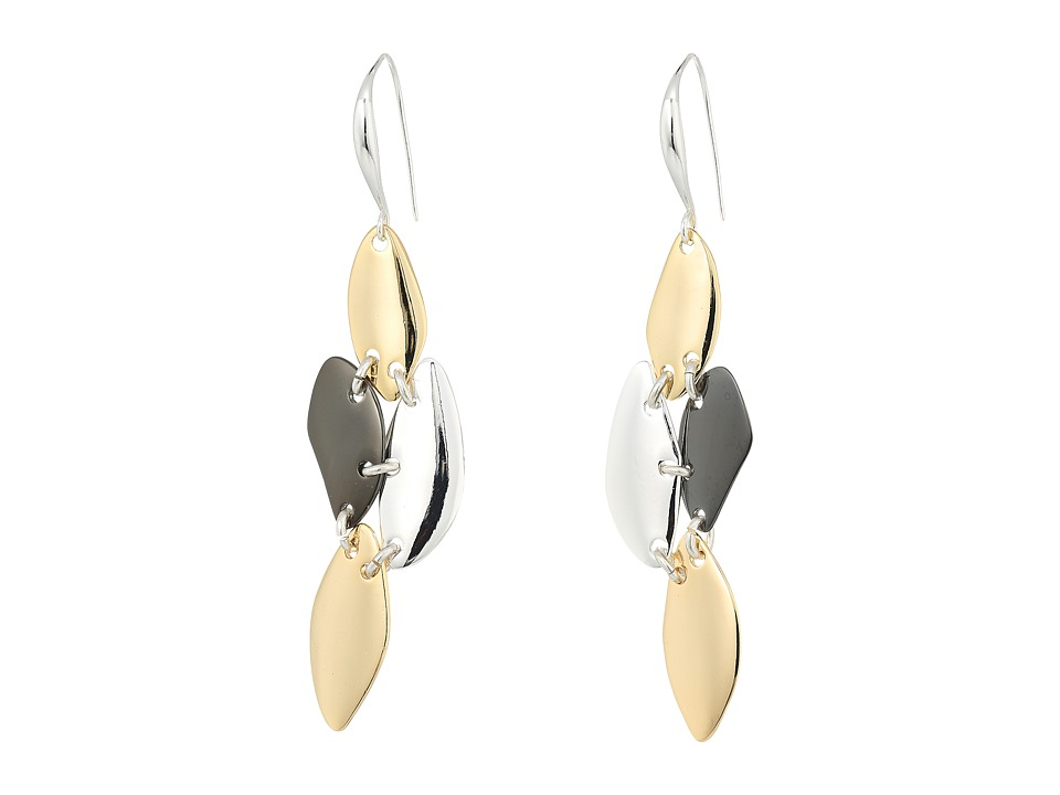 Robert Lee Morris - Tri-Tone Chandelier Earrings (Tri-Tone) Earring