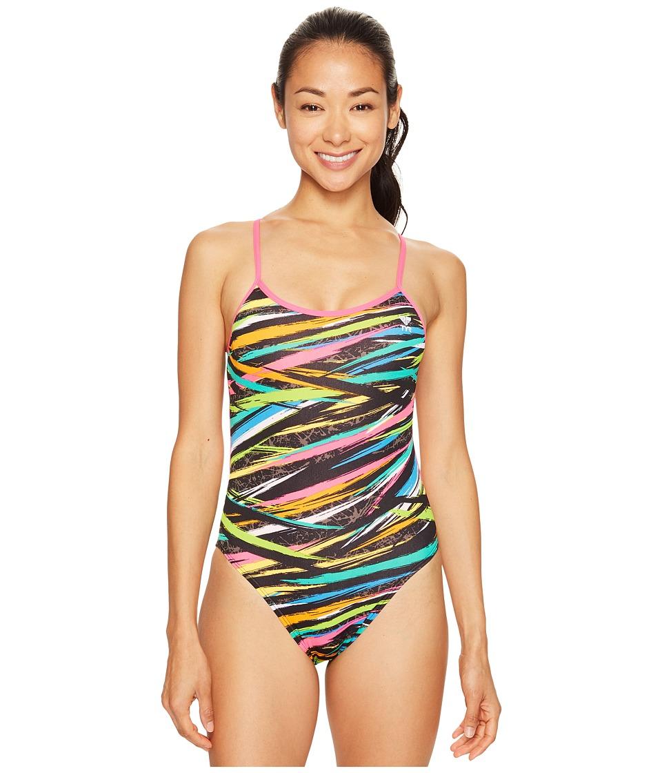 TYR - Ravana Trinityfit (Black/Multi) Women's Swimsuits One Piece