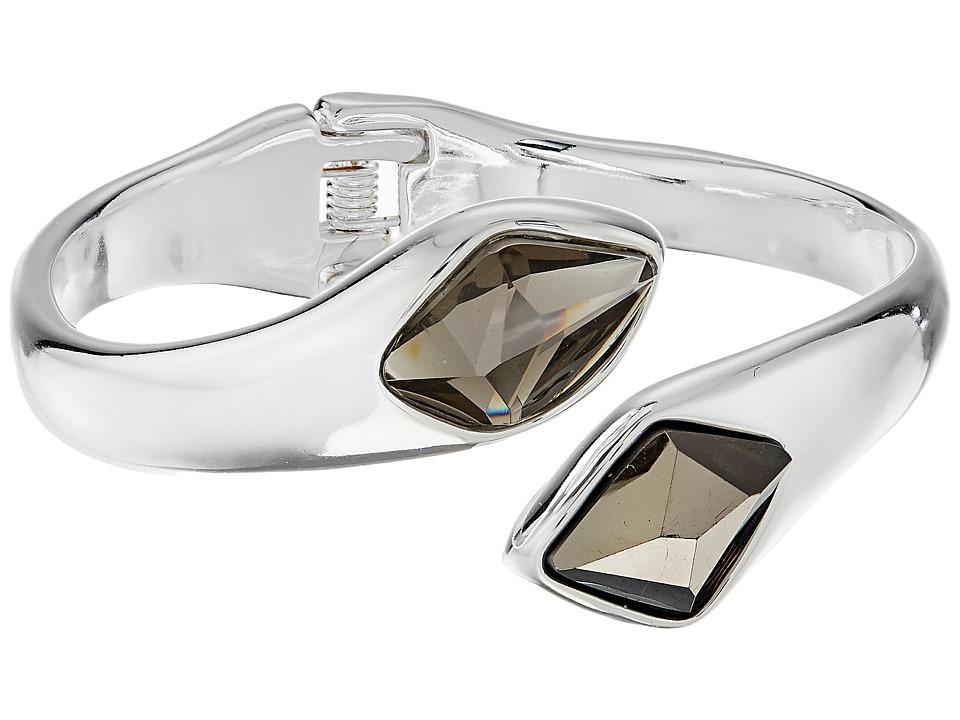 Robert Lee Morris - Grey Silver Stone Bypass Bracelet (Grey) Bracelet