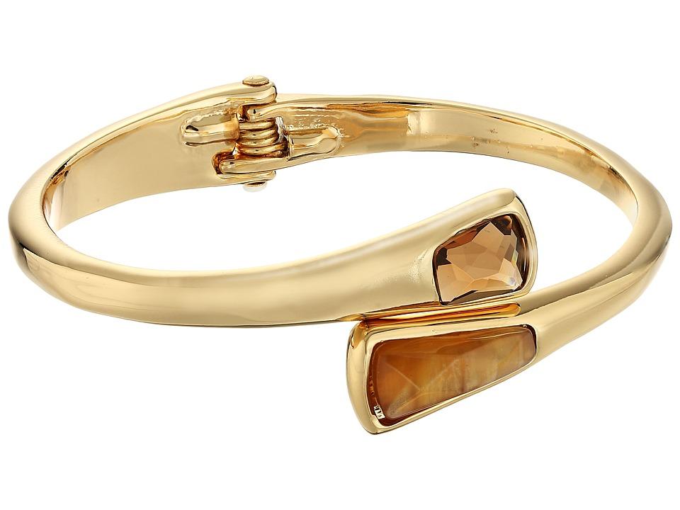 Robert Lee Morris - Topaz Gold Stone Bypass Bracelet (Topaz) Bracelet