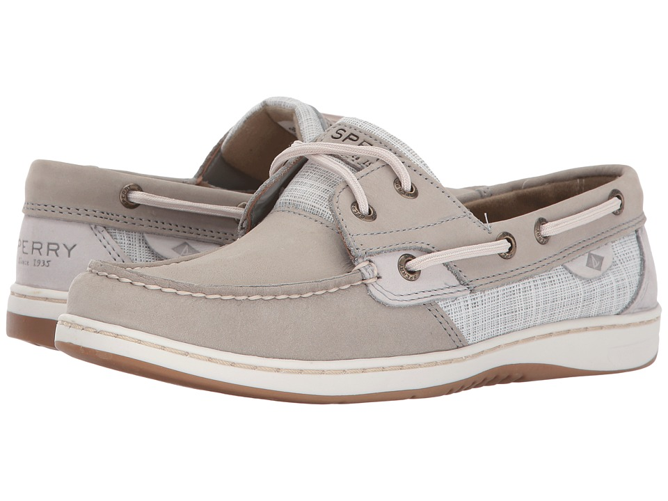 Sperry Bluefish Cross Hatch (Grey) Women