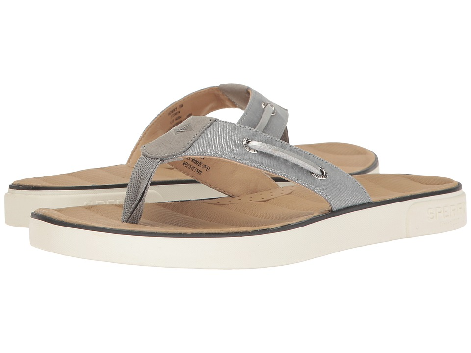 Sperry - Oar Brook (Grey/Silver) Women's Shoes