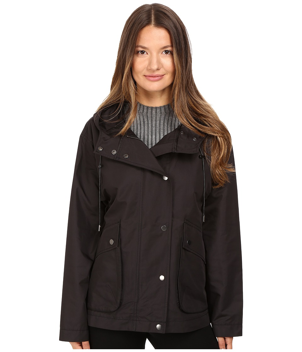 ATM Anthony Thomas Melillo - Cropped Techno Parka (Black) Women's Coat