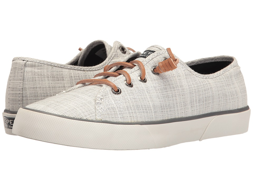 Sperry - Pier View Cross Hatch (Grey) Women's Shoes