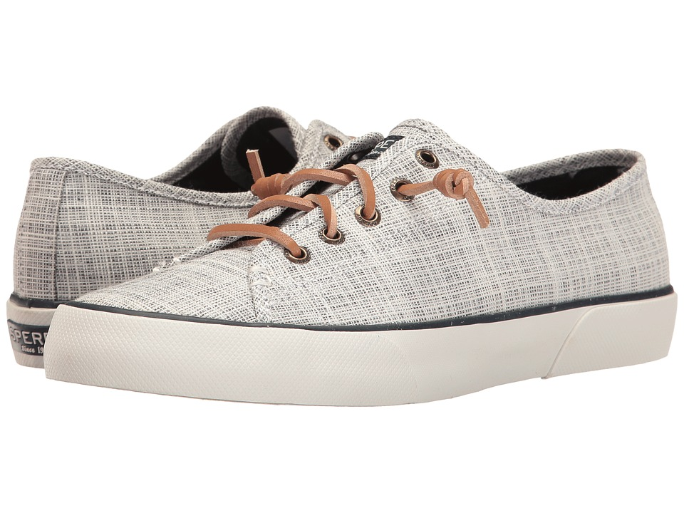 Sperry - Pier View Cross Hatch (Navy/Linen) Women's Shoes
