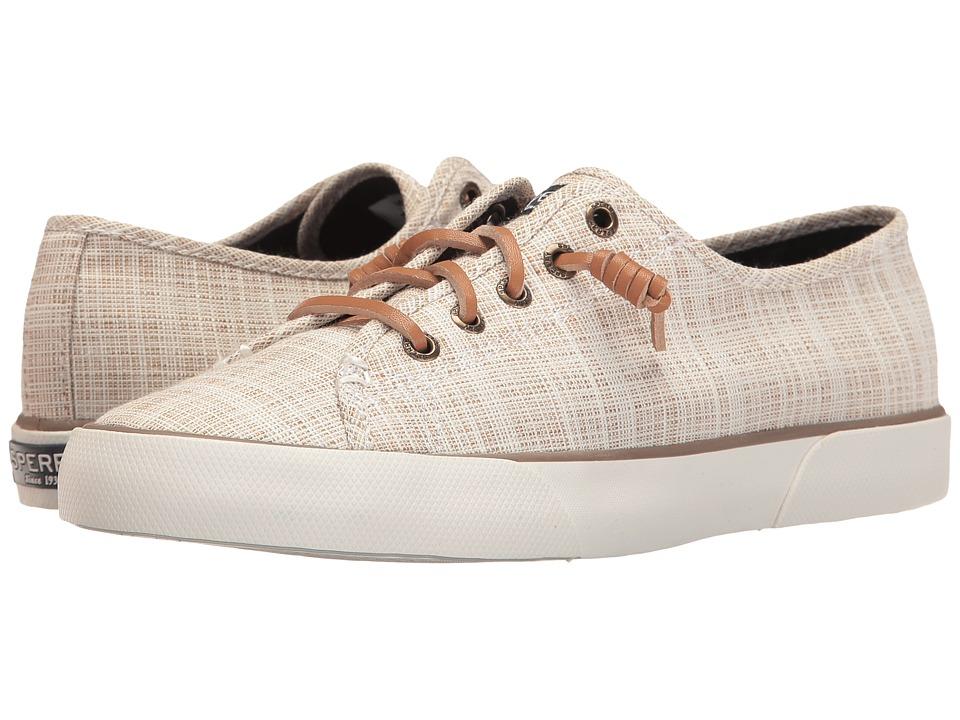 Sperry - Pier View Cross Hatch (Linen) Women's Shoes