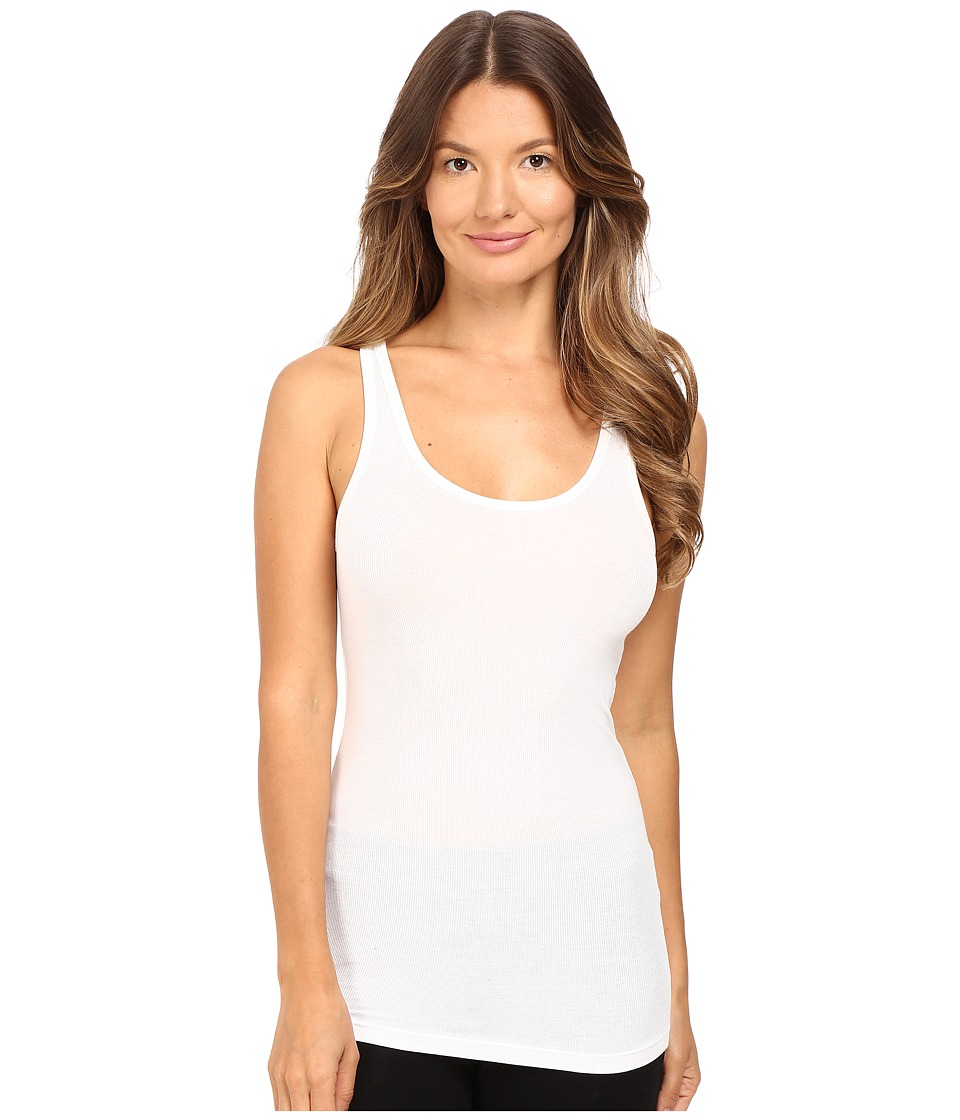 ATM Anthony Thomas Melillo - The Boy Tank Top (White) Women's Sleeveless