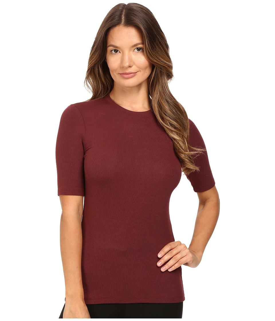 ATM Anthony Thomas Melillo - Short Sleeve Tee (Rust) Women's T Shirt